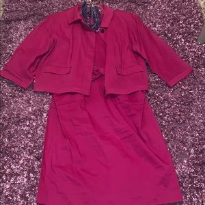 NWOT DKNY Dress & Blazer Set